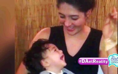 #DAElReality Babies Edition: Baby Joshua tiene una risita contagiosa