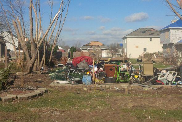Así amanecieron los poblados en Condado de Will, luego de que varios tor...