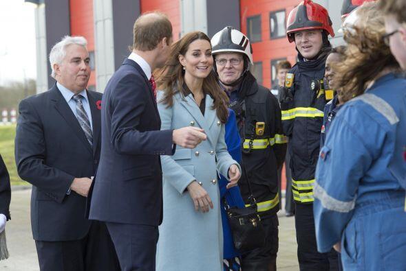 Kate Middleton sigue cumpliendo con sus compromisos reales.