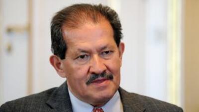 El vicepresidente colombiano Angelino Garzón, quien se encuentra delicad...