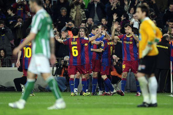 Fiesta absoluta en casa del Barcelona, que con este 5-0 tiene pie y medi...