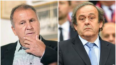 Platini y Zico fuera de la carrera por la presidencia de FIFA