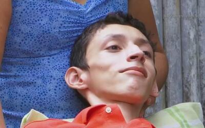 Distrofia muscular progresiva apaga la vida de un joven de 15 años