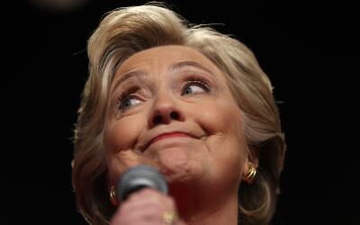 En varias ocasiones las respuestas de Clinton contra Trump generaron apl...