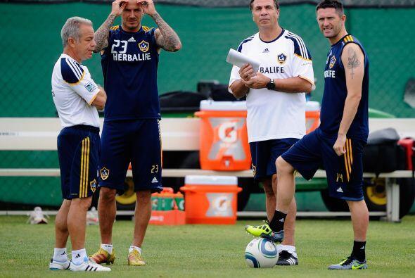 Beckham y Keane forman una dupla de miedo con experiencia y mucho talento.
