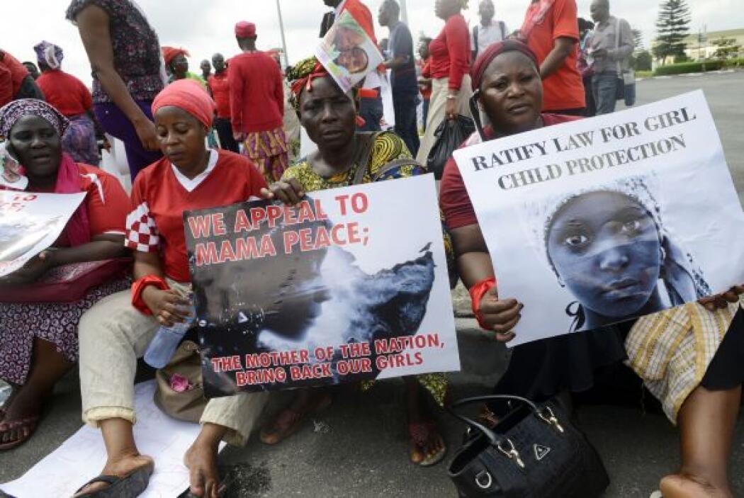 La protesta pretende presionar al Gobierno nigeriano para que incremente...