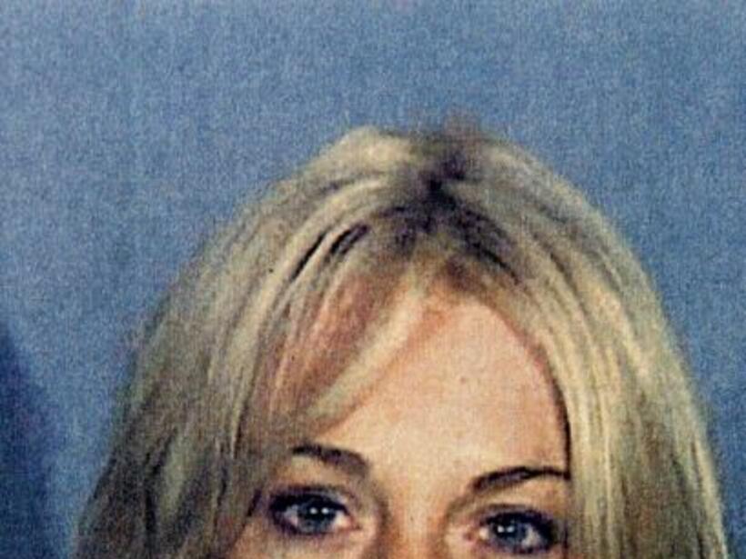 La cantante fue arrestada el 24 de julio de 2007, por chocar contra un a...
