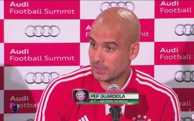 """Pep Guardiola: """"Saben que soy gran fan del fútbol mexicano"""""""