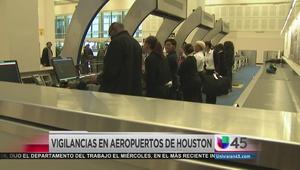 Medidas de seguridad en aeropuerto George Bush