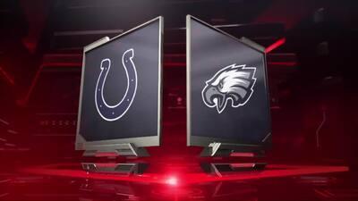 Lo mejor del Indianapolis Colts vs. Philadelphia Eagles