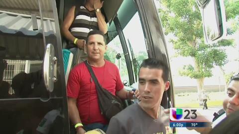 Primer grupo de cubanos ya están en México