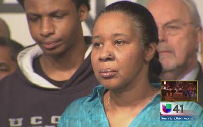 Esposa de Garner no acepta condolencias