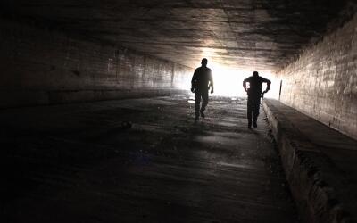 Agentes de la Patrulla Fronteriza en Nogales Arizona