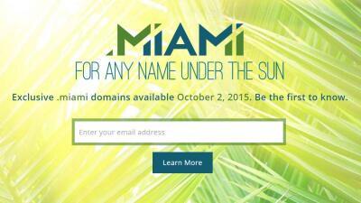 Pronto tu página web podrá terminar en .MIAMI