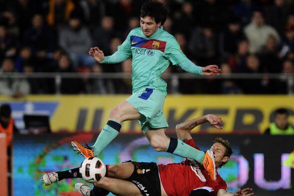 El final fue todo del Barcelona, dominando y marcando las pautas ante un...