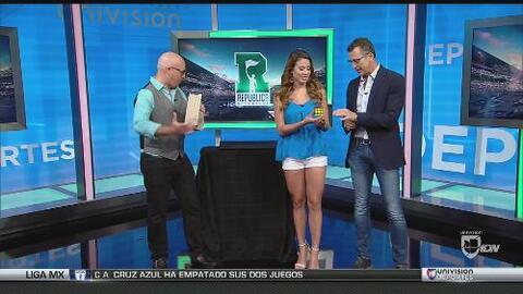 Alan Chamo sorprendió a Félix y Yaritza con el cubo de Rubik