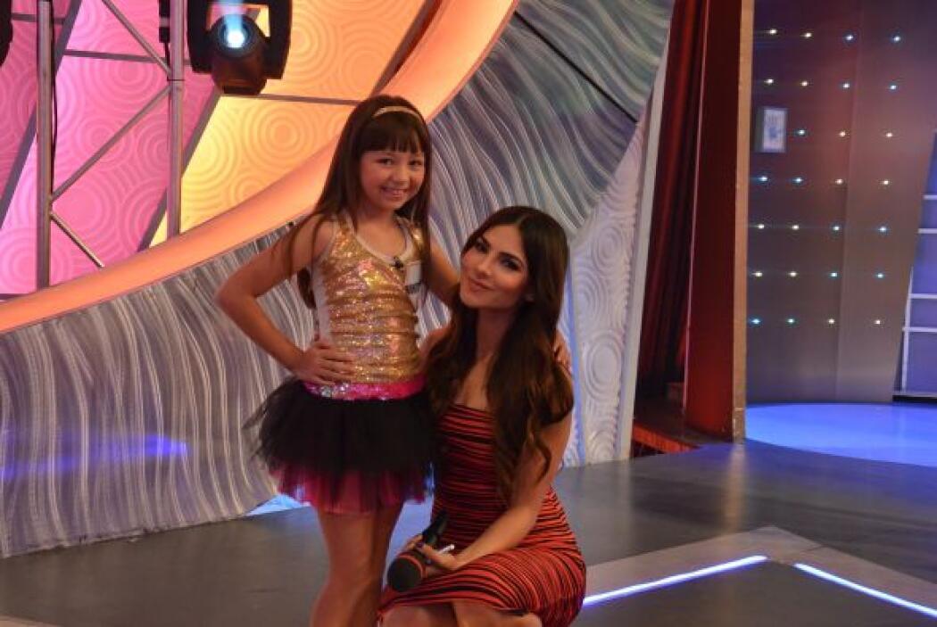 Montserrat García, de 9 años, se hizo famosa en 2011 por su personaje de...