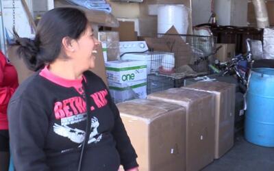 Verónica Martínez, originaria de Veracruz, acude a un serv...