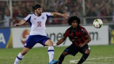 Cruz Azu no pudo pasar del empate contra el Alajuelense.