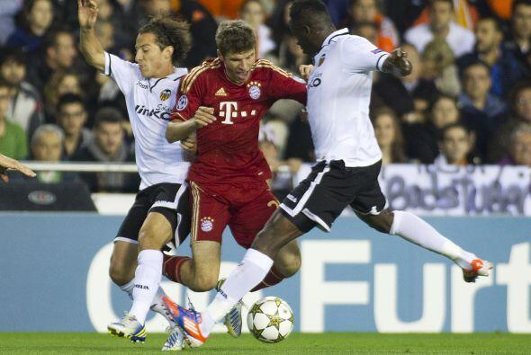 Asimismo, el Valencia recibió en su casa al Bayern Munich.