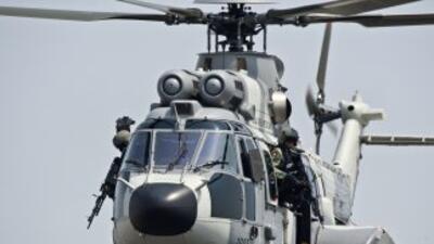Helicópteros de la Secretaría de Marina sobrevolaron la ciudad de Culiac...