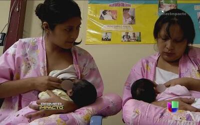 Nodrizas voluntarias para niños prematuros que luchan por su vida