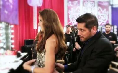 Los colores metálicos engalanan la pasarela de Nuestra Belleza Latina 2014