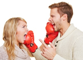 discusión pareja