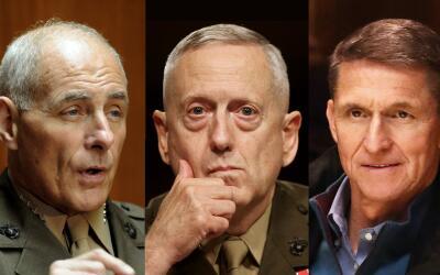 Los generales de Donald Trump.