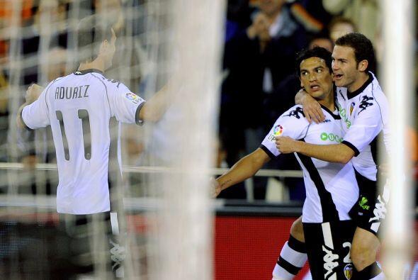 El argentino Tino Acosta abrió el marcador en favor de los 'Ches'.