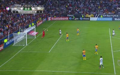 Nahuel le quitó el gol a Franco Jara y Tigres se salvó del 1-0