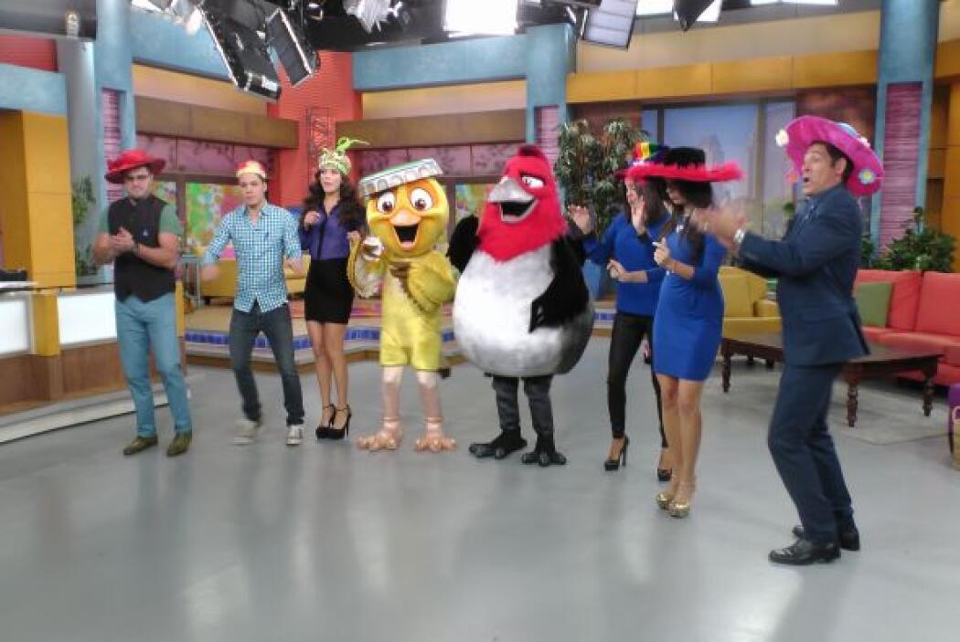 Las carismáticas aves de Río 2 trajeron todo el ambiente del carnaval de...