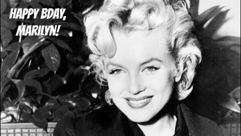 Marilyn Monroe, unas semanas antes de morir el 5 de agosto de 1962.