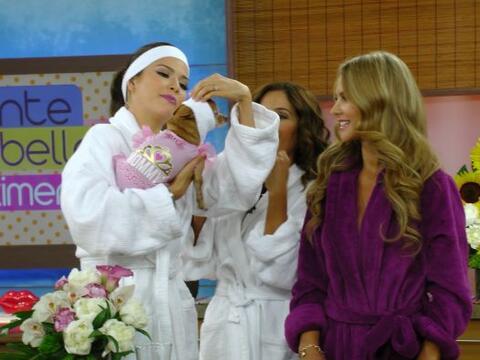Este martes en 'Ponte bella con Ximena', Honey se unió a las chicas para...