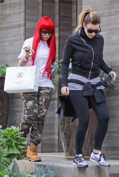 Últimamente, Kim Kardashian anda por todos lados con una misterio...
