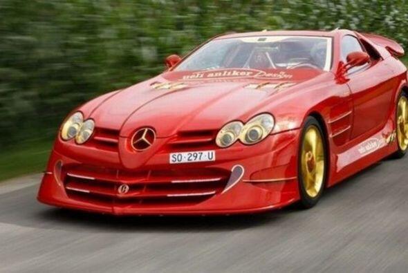 ¿Qué hombre no amaría este Mercedes-Benz SLR de $11...