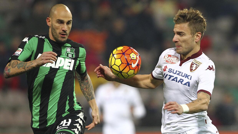 Sassuolo y Torino empataron en partido de la jornada 16.