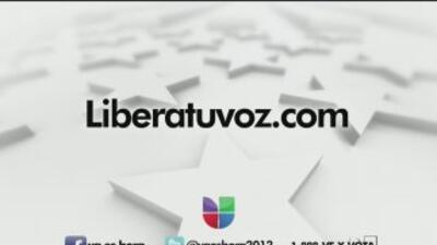 Univision impulsa la campaña ´Libera tu voz´ para motivar a la comunidad...
