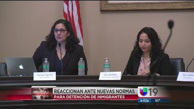 Reacciones ante nuevas políticas de inmigración