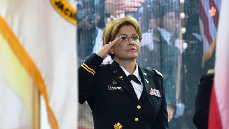 Marta Carcana Cruz , Ayudante General de la Guardia Nacional de PR