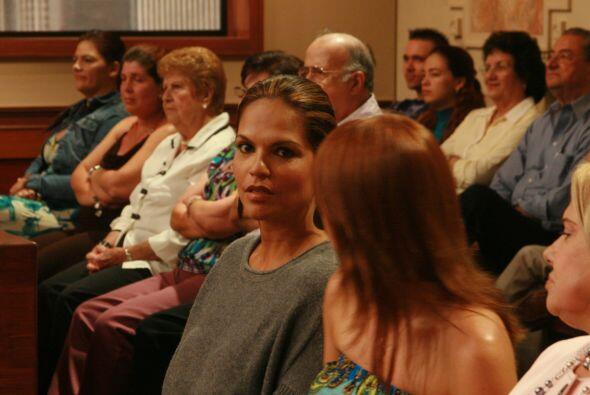 La jueza Cristina Pereyra y el jurado escucharon a las dos partes