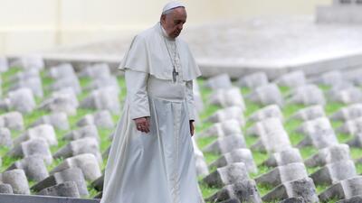 El papa Francisco advierte de una actual tercera Guerra Mundial