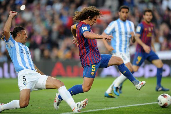 A los 12 minutos, Carles Puyol abrió la cuenta.