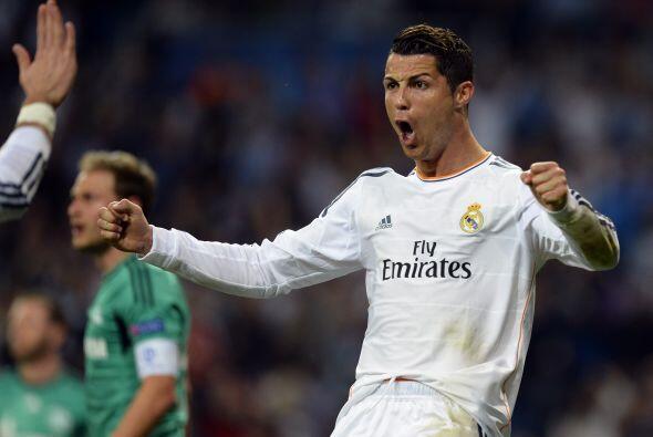 Cristiano Ronaldo seguía sumando goles en esta competición...