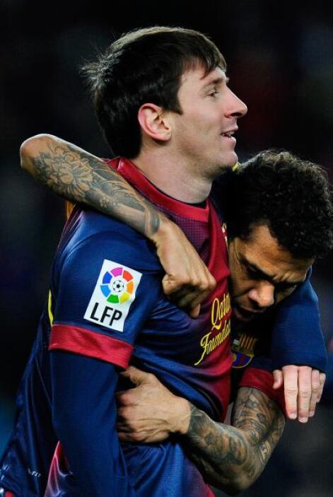 Messi hizo el gol del triunfo culé y sumó más cifras a su larga lista de...