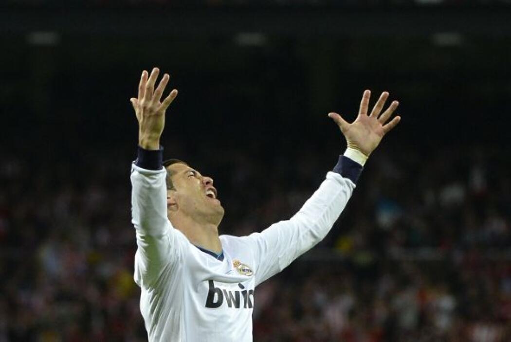 Cristiano Ronaldo no entendía el por qué la pelota no se iba a las redes...