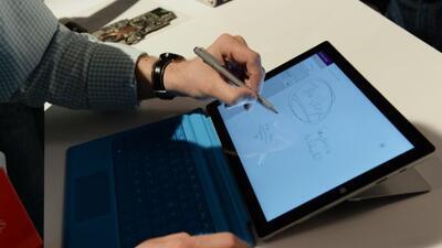 Apple planea entrar al mercado de las tablets de 12 pulgadas.