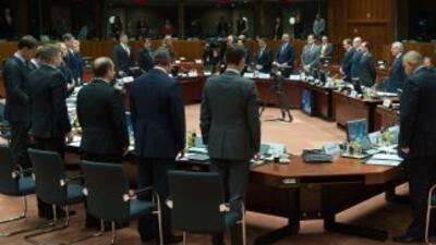 Los jefes de Estado y Gobierno de la Unión Europea iniciaron la cumbre e...