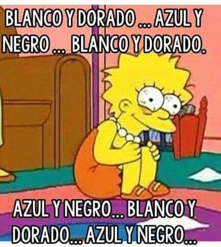 Así estaba todo mundo, como Lisa Simpson.