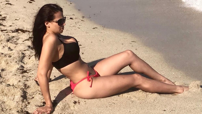 Carla en el Mar